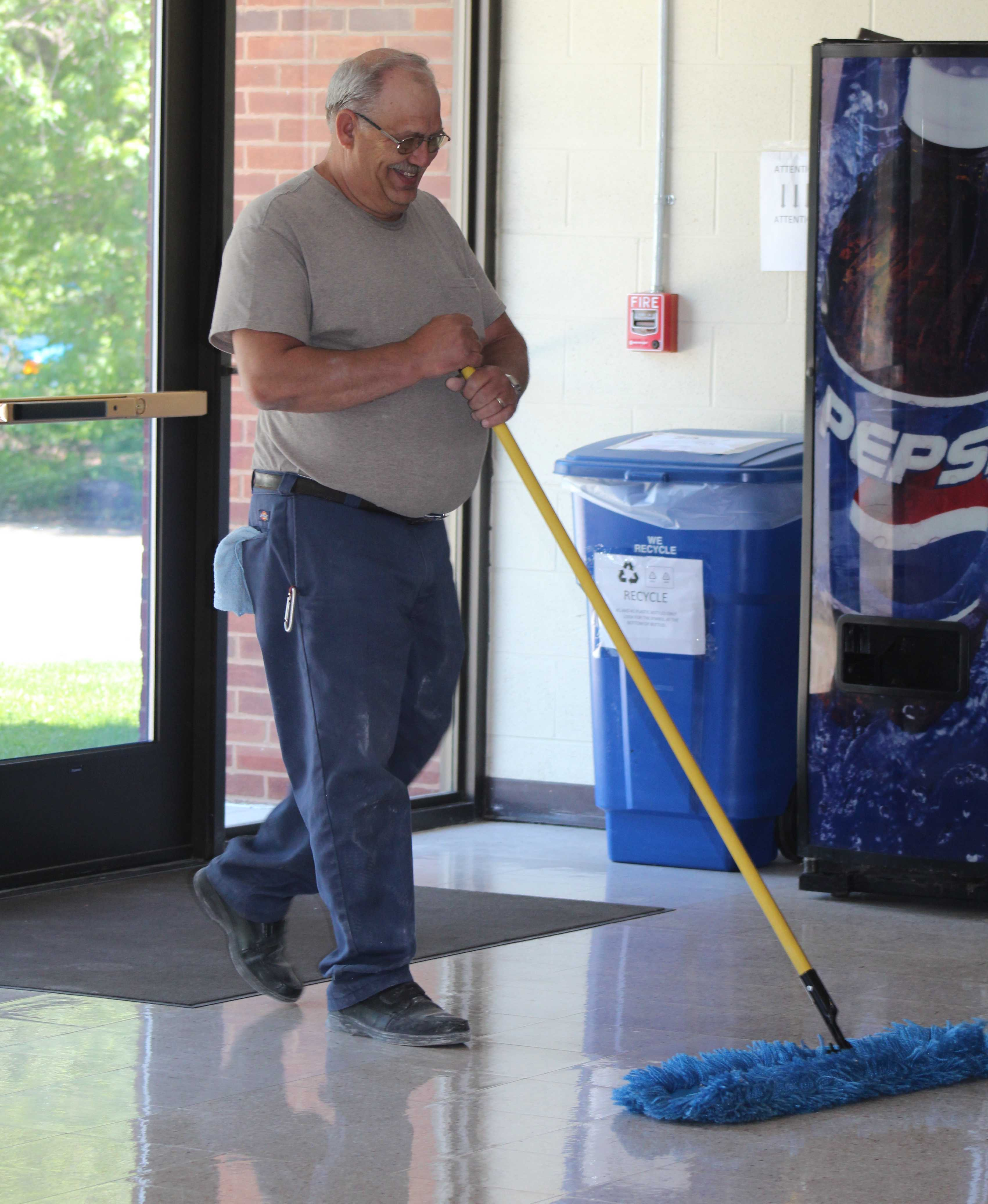 NuVisions Center janitorial staff